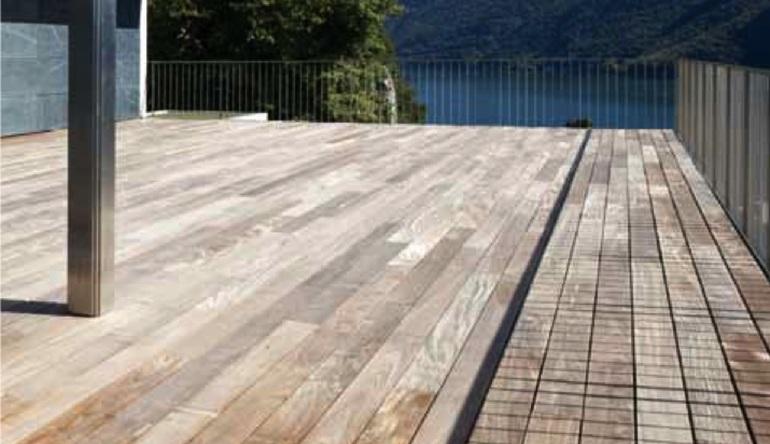 Tarima de madera para exteriores wood deck dparquitectura for Suelos para exteriores sin obras