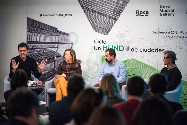 Roca madrid gallery acoge la 4 sesi n del ciclo un mundo for Fernando porras arquitecto