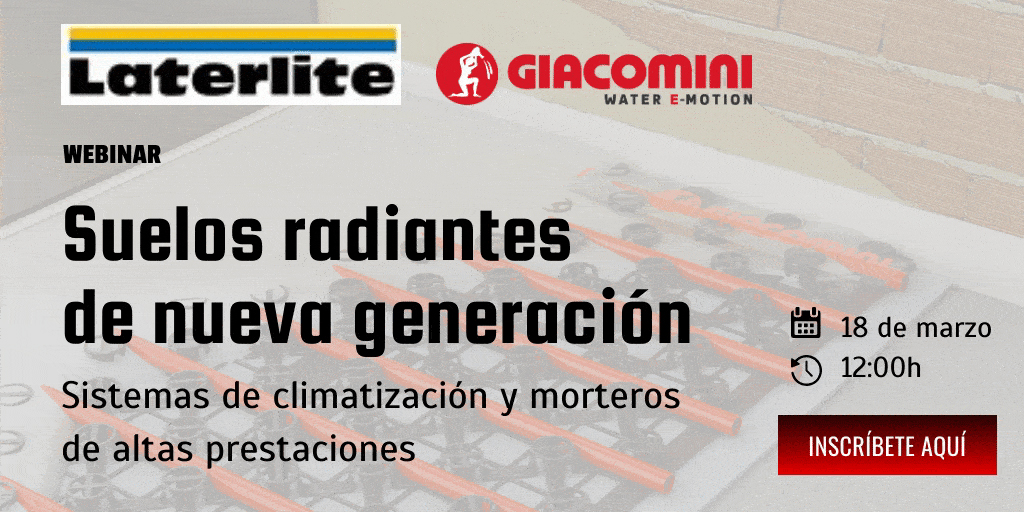 SUELOS RADIANTES DE NUEVA GENERACIÓN. Sistemas de climatización y morteros de altas prestaciones