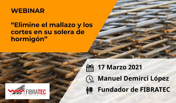 2021 marzo- Eliminación de mallazos y cortes de retracción en la construcción de losas de hormigón - Fibratec