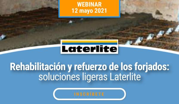 2021 REHABILITACIÓN Y REFUERZO DE FORJADOS. Soluciones ligeras Laterlite