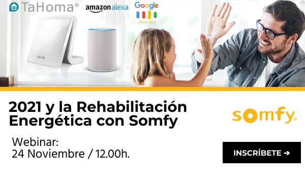 2021 y la Rehabilitación Energética con Somfy