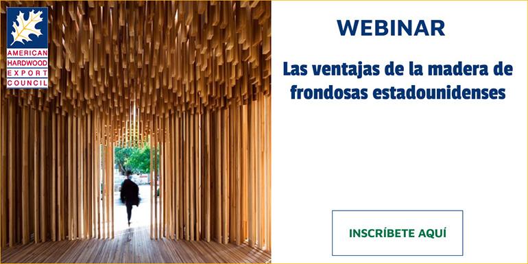 2021- AHEC: Las ventajas de la madera frondosa estadounidense, AHEC