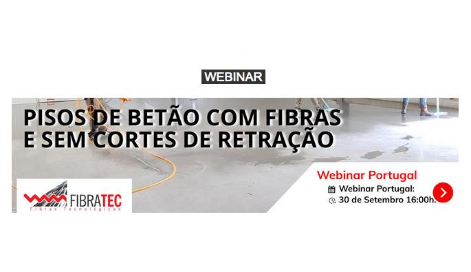 2021. FIBRATEC - PISOS DE BETÃO COM FIBRAS E SEM CORTES DE RETRAÇÃO