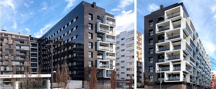 El edificio Inspira en Pamplona, certificado Passivhaus