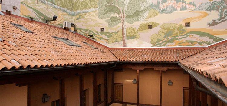 Retejado e impermeabilización de cubierta en una corrala tradicional madrileña