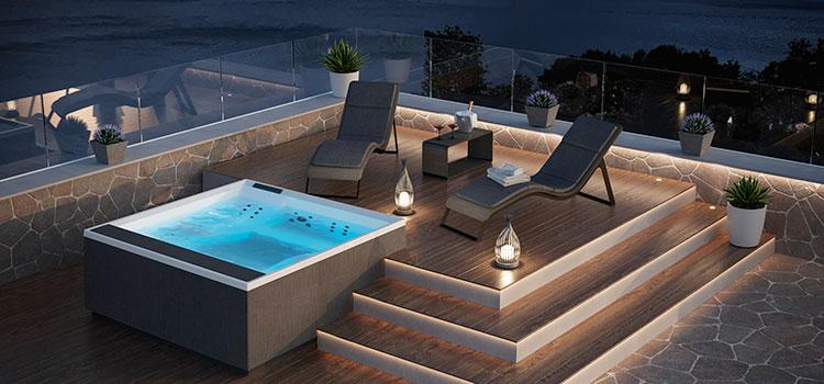 Nueva colección de complementos y accesorios spa para el exterior