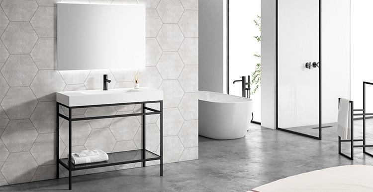 Material eco sostenible ideal para fabricar lavabos, bañeras o encimeras