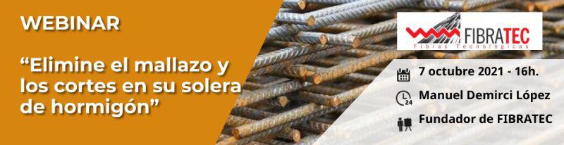 Eliminación de mallazos y cortes de retracción en la construcción de losas de hormigón en el curso online de Fibratec
