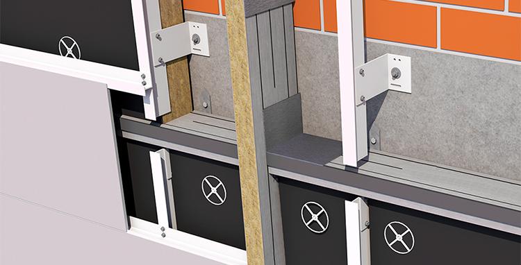 Knauf y Knauf Insulation presentan la nueva barrera cortafuegos de aplicación para fachadas ventiladas en Edifica 2021