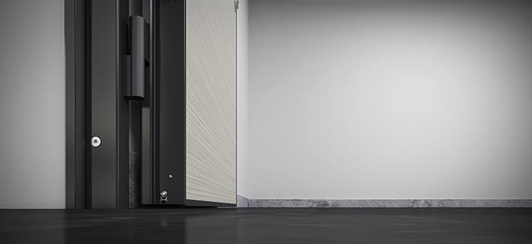 Sistema compuesto por puerta y juntas bajo puerta
