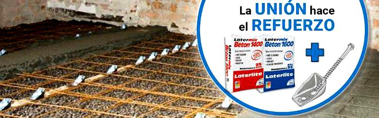 La rehabilitación y el refuerzo de forjados en el curso online gratuito de Laterlite