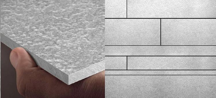 Paneles de fibrocemento para fachadas inspirados en el paisaje lunar