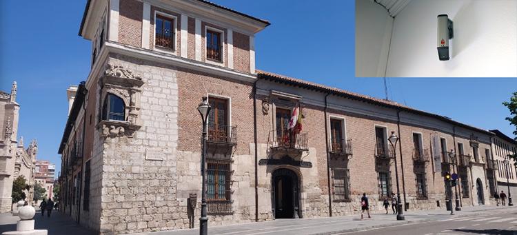 Solución a la humedad ascendente por capilaridad en el Palacio de Pimentel de Valladolid
