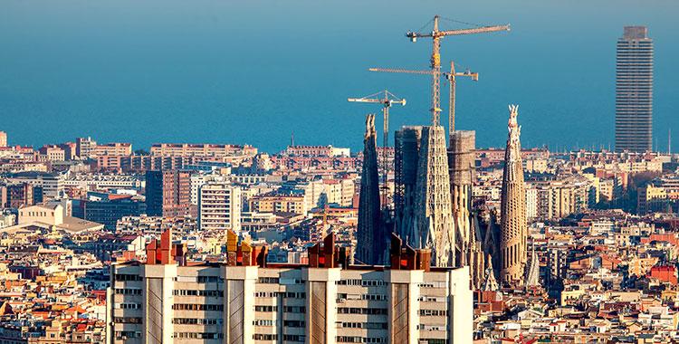 Los visados de vivienda aumentaron casi un 30% en el primer semestre en Barcelona