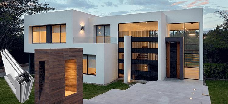 Sistemas practicables de hoja oculta para ventanas de aluminio
