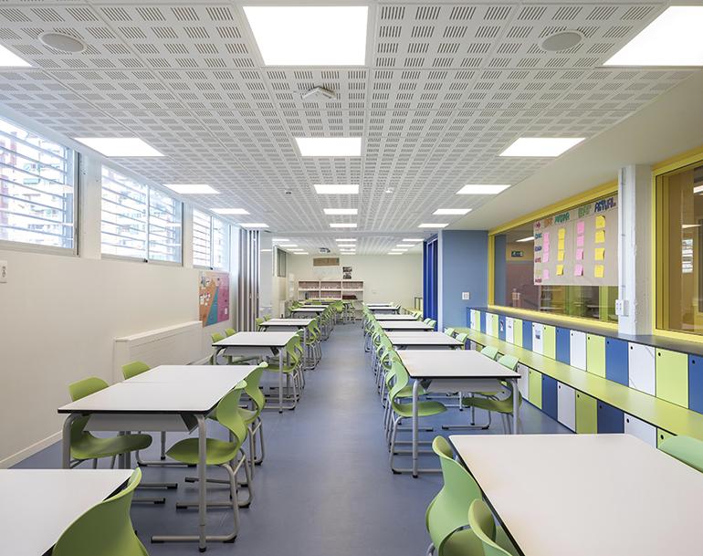 La Escuela Jesuitas de L´Hospitalet de Llobregat reforma su tercera planta