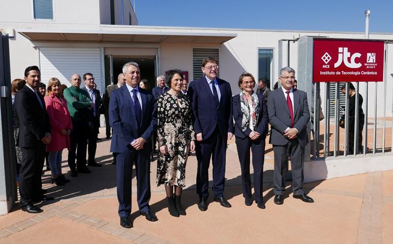 El ITC amplía su sede en Almassora para impulsar la digitalización de las cerámicas y nuevas aplicaciones en construcción y hábitat