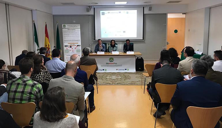 Andalucía lidera un proyecto europeo para analizar la calidad de la biomasa de uso energético