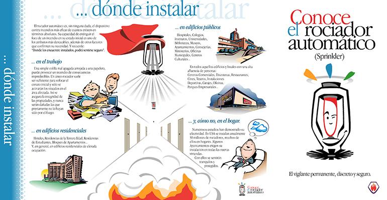 """TecniFuego lidera en España la campaña """"Home Fire Srinkler Week"""": el rociador salva vidas y bienes"""