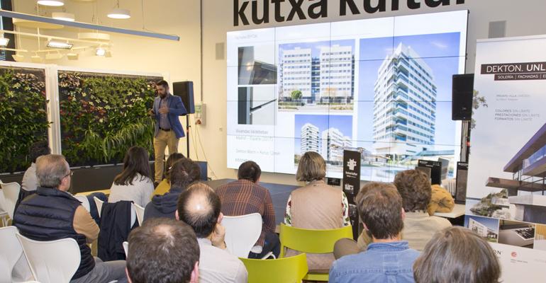 Cosentino dialoga sobre arquitectura y fachadas en San Sebastián