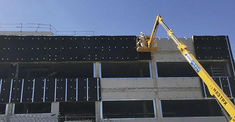 Nuevo panel para fachada ventilada