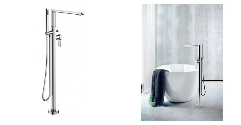 Genebre grifo monomando bañera