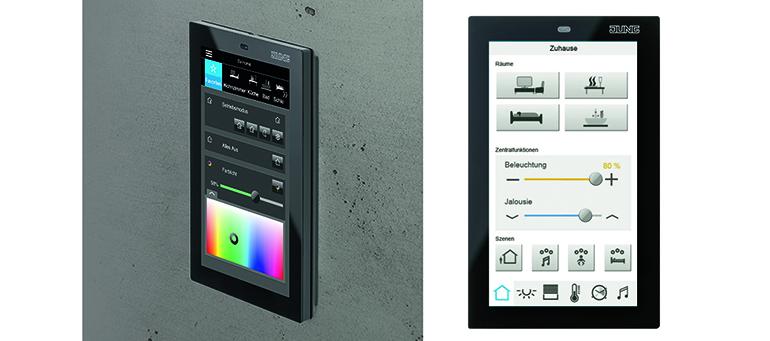 Nuevo panel inteligente para el control domótico en viviendas