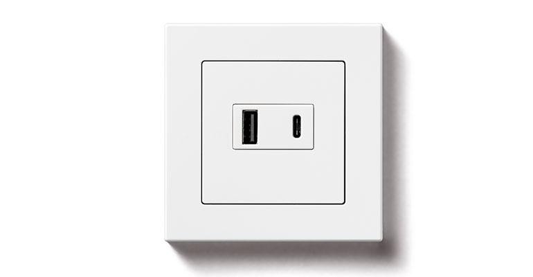 Enchufes con cargador USB y carga rápida