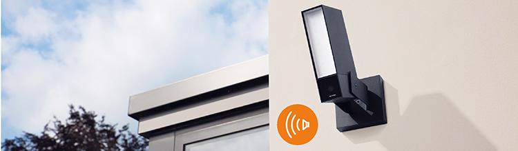Cámaras exteriores inteligentes que permiten visualizar y almacenar los vídeos
