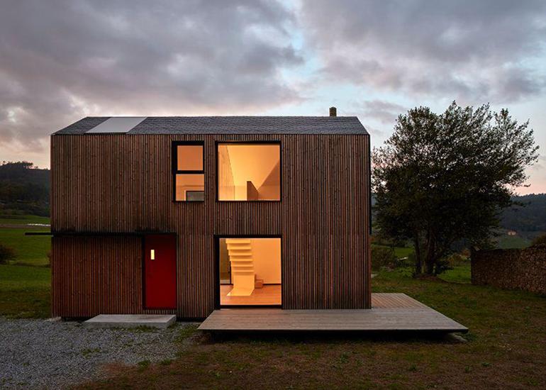 Lunawood de Gabarró, la madera termotratada que trata de aportar soluciones para la construcción de proyectos residenciales