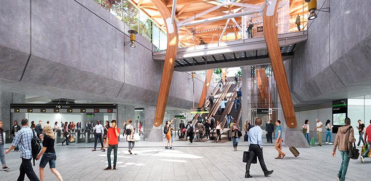 Schindler instalará 103 escaleras mecánicas y 73 ascensores en el metro de Melbourne