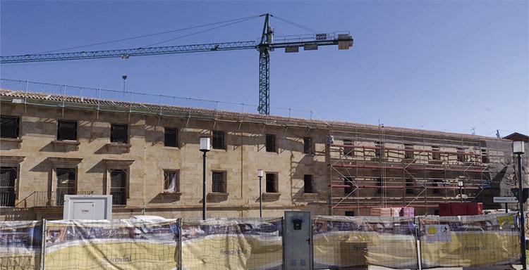 Rehabilitación del histórico Colegio Mayor San Bartolomé de la Universidad de Salamanca