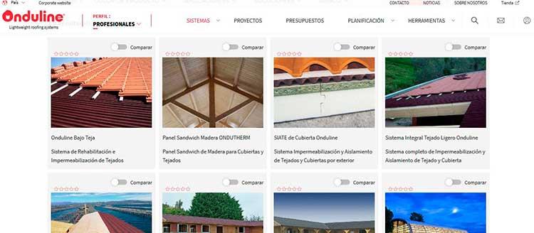 Onduline pone a disposición de los profesionales toda la información en su nuevo sitio web