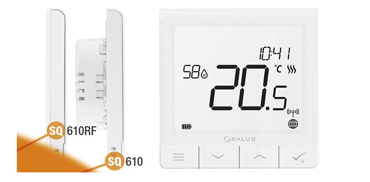Cronotermostatos frío-calor con sensor de humedad