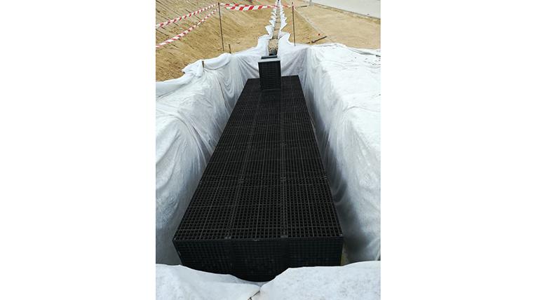 HidroStank suministra sus cajas de drenaje en el proyecto del puente singlular sobre la M-12 en Madrid