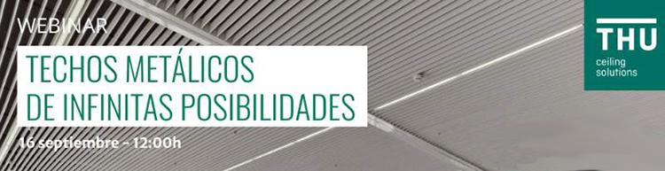 Techos metálicos de infinitas posibilidades en el próximo curso online de DPArquitectura
