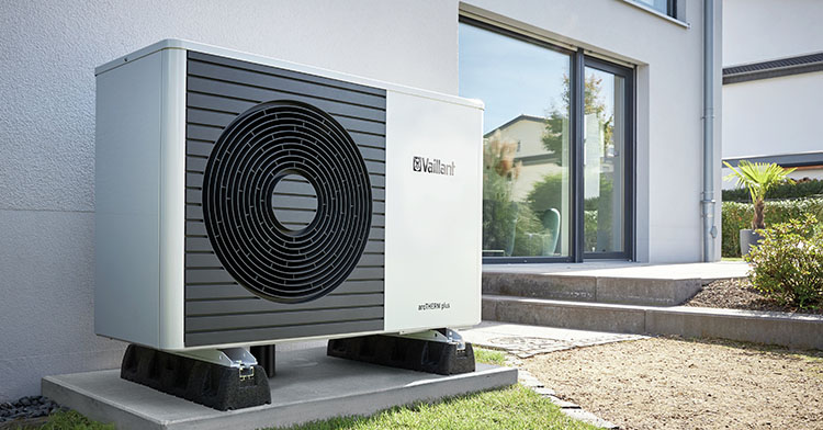 Bomba de calor con tecnología de refrigerante natural