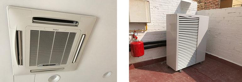 La residencia de Estudiantes Can 19 instala el sistema de climatización Aerotermia Vaillant