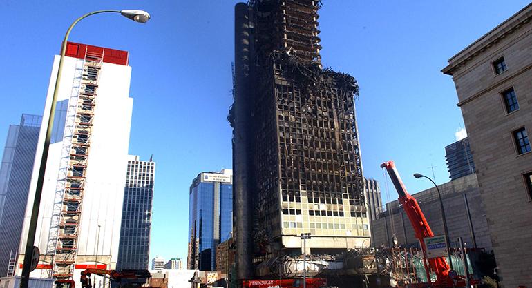 Propuestas de Ingenieros Industriales de Cataluña sobre la propagación de incendios por fachada