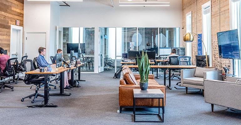 Aire interior oficinas