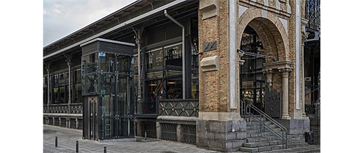 Nuevos ascensores para el Mercado Central de Zaragoza