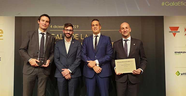 El Athletic Club galardonado con el Premio Extraordinario A3e de Eficiencia Energética