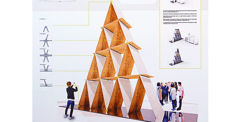 House of Cards, de Nihil Estudio, ganador del concurso Trans-Hitos de Cevisama