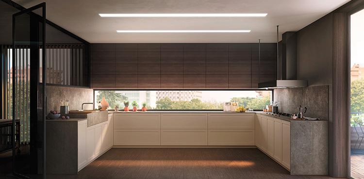 Colección de cocinas con clasicismo renovado