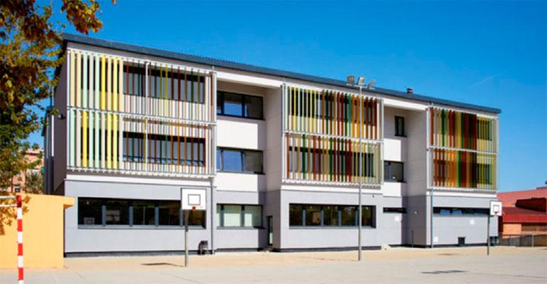 El primer colegio Passivhaus aprueba en eficiencia energética
