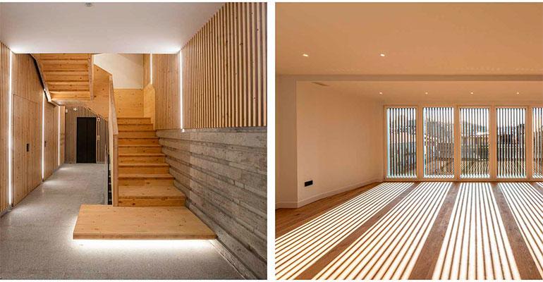 Un hotel convertido en el primer edificio plurifamiliar Passivhaus de Galicia