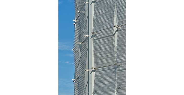 detalle Malla metálica depósito Codina Architectural 2