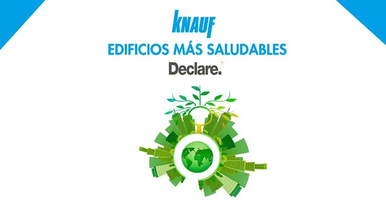 Knauf garantiza con la etiqueta Declare que sus productos son reciclables