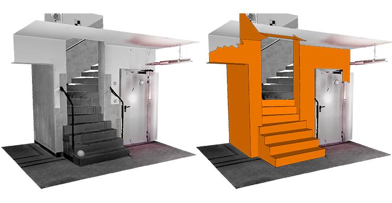 Nuevo software As-Built Modeler que permite extraer información de edificios
